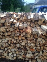 Palivé dřevo  Ústí, dřevo na topení Ústí, štípané dřevo Ústí