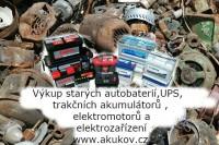výkup starých elektromotorů a UPS akumulátorů