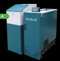 Kotel EkoScroll 25 kW na hnědé uhlí.