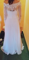 Svatební šaty vel. 34