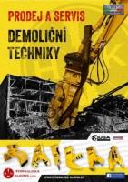 Prodej demoliční techniky