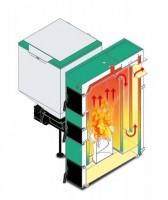 Výprodej automatického kotle na uhlí 25 kW