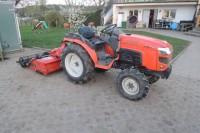 Malotraktor, zakladač trávníků, mulčovací sekačka