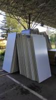 Sendvičové izolační panely stěnové