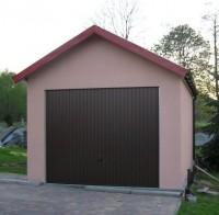 Montovaná garáž s omítkou - celá ČR