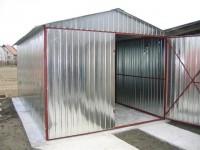 Plechová garáž - AKCE