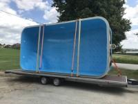 Plastový bazén 6x3x1,5 - výprodej