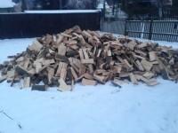 Palivové dřevo :  Český Těšín, dřevo na topení Český Těšín, štípané dřevo Český Těšín