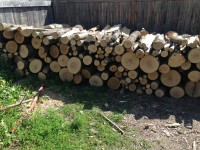 Palivové dřevo :  Česká Ves, dřevo na topení Česká Ves, štípané dřevo Česká Ves