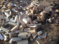 Palivové dřevo :  Bělotín, dřevo na topení Bělotín, štípané dřevo Bělotín