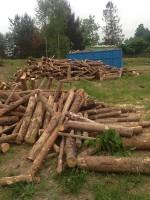 Palivé dřevo  Sobíšky, dřevo na topení Sobíšky, štípané dřevo Sobíšky