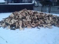Palivé dřevo  Špičky, dřevo na topení Špičky, štípané dřevo Špičky