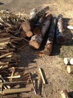 Palivé dřevo  Bystrovany, dřevo na topení Bystrovany, štípané dřevo  Bystrovany