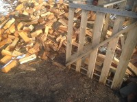 Palivé dřevo  Uničov, dřevo na topení Uničov, štípané dřevo Uničov