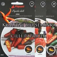 Kvalitní semínka chilli papriček