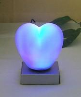 Sv.Valentin - dárek - svítící srdce - noční svítidlo