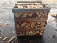 Štípané palivové dřevo Ostrava