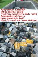vykoupíme vaše staré akumulátory,Ostrava