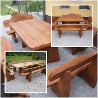Zahradní nábytek z dubu
